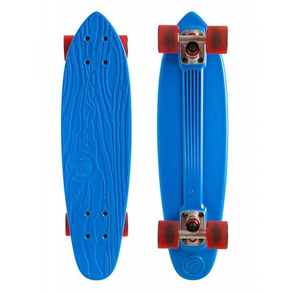 """Gold Coast Whizz Longboard Skateboard Complete Blue 6 5X24"""" U.S.A. & Canada"""