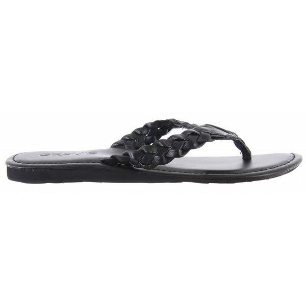 Gravis Athena Sandals Black U.S.A. & Canada