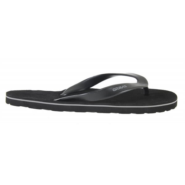 Gravis Crescent Sandals Black U.S.A. & Canada