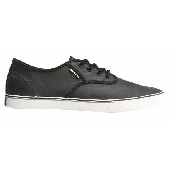 Gravis Slymz Wax Shoes Black U.S.A. & Canada