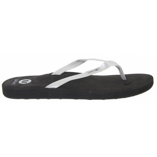 Gravis Spritzer Sandals Black / Silver U.S.A. & Canada