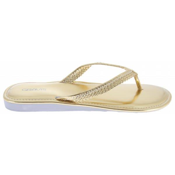 Gravis Teba Sandals Gold U.S.A. & Canada