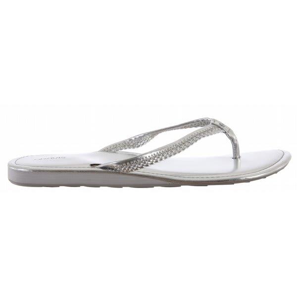 Gravis Teba Sandals Silver U.S.A. & Canada