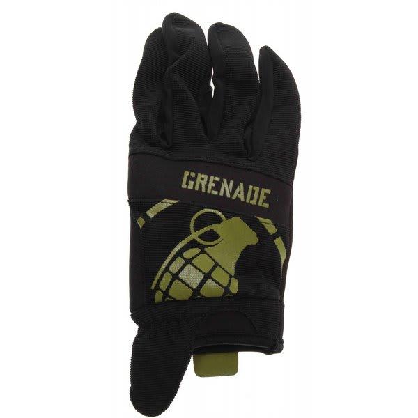 Grenade Disobey Bike Gloves Black / Lime U.S.A. & Canada