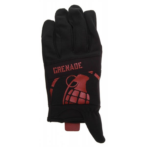 Grenade Disobey Bike Gloves Black / Red U.S.A. & Canada