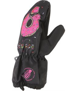 Grenade Doughnades For The Little Critters Mittens - Toddler Sizes