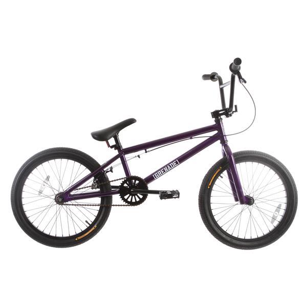 Grenade Flare Bmx Bike Purple 20In U.S.A. & Canada