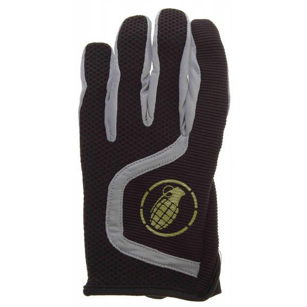 Grenade Flyer Bike Gloves Black / Lime U.S.A. & Canada