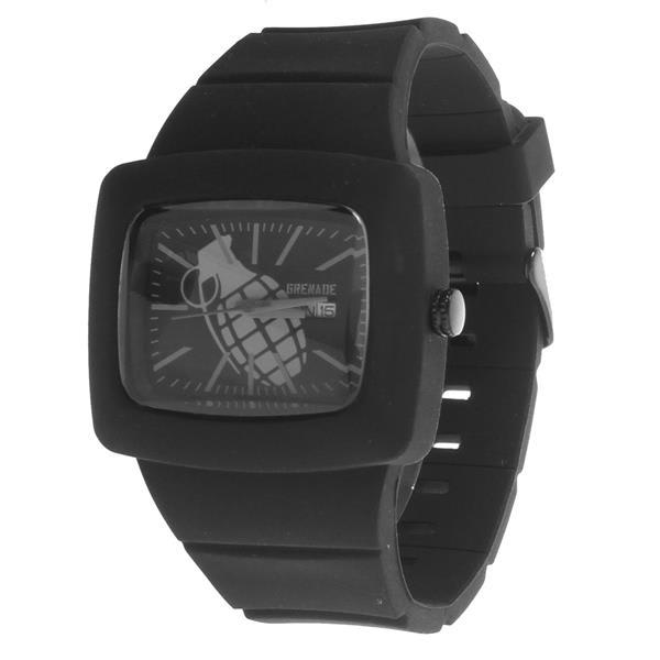 Grenade Flare Watch Black / Black U.S.A. & Canada