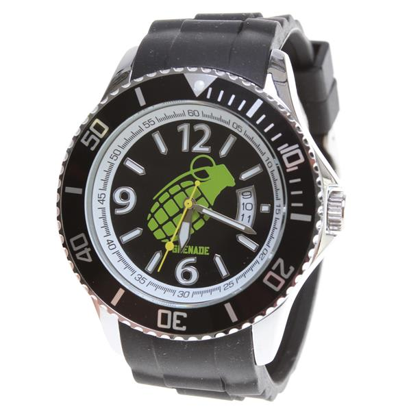 Grenade Fragment Watch Black / Green U.S.A. & Canada