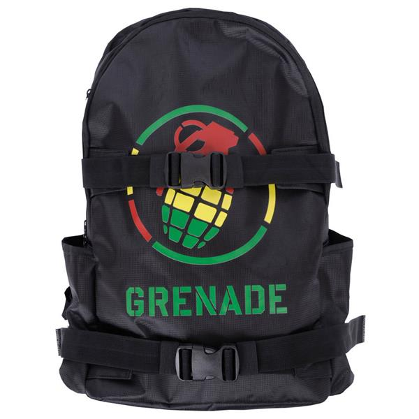 Grenade Logo Backpack Rasta U.S.A. & Canada