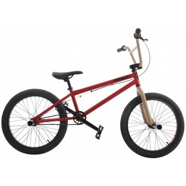 Grenade Mx Bmx Bike Electric Red / Tan 20In U.S.A. & Canada