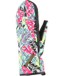 Grenade Prom Date Quilted Mittens