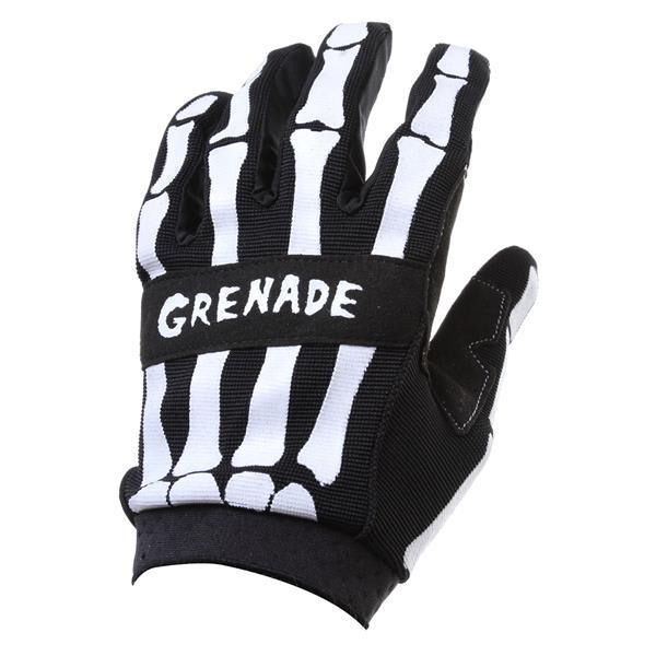 Grenade Skeleshred Bmx Gloves Black U.S.A. & Canada