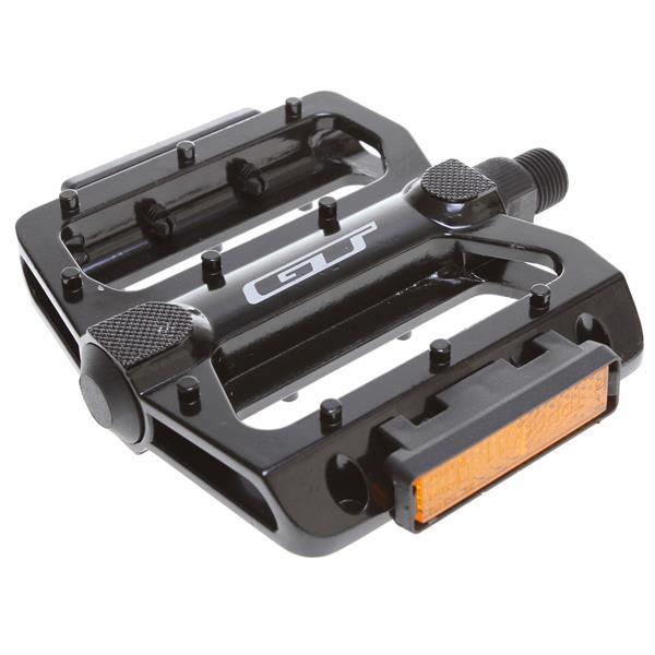 Gt Alloy Bmx Pedals Black 9 / 16In U.S.A. & Canada