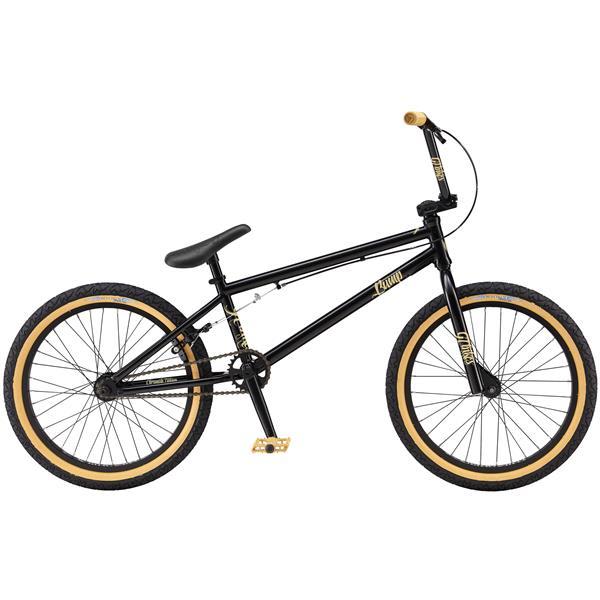 Gt Bump Bmx Bike Satin Black 20In U.S.A. & Canada