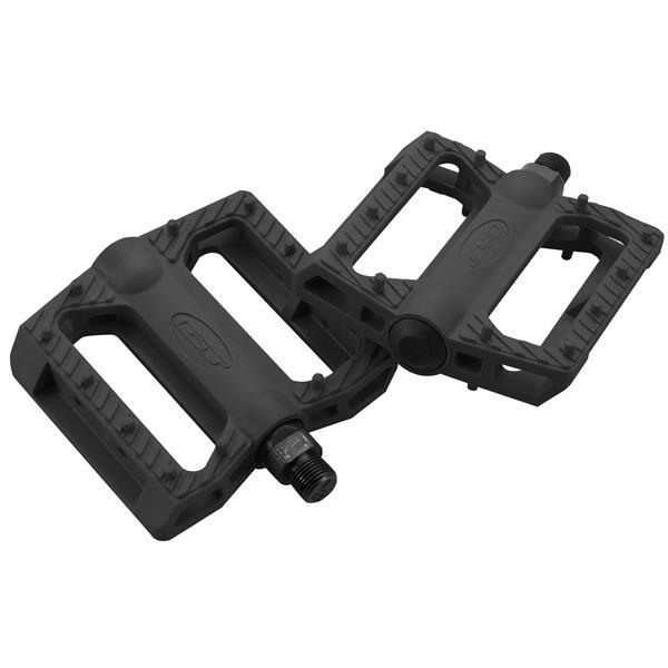 Gt Nylon Bmx Pedals Black 9 / 16In U.S.A. & Canada