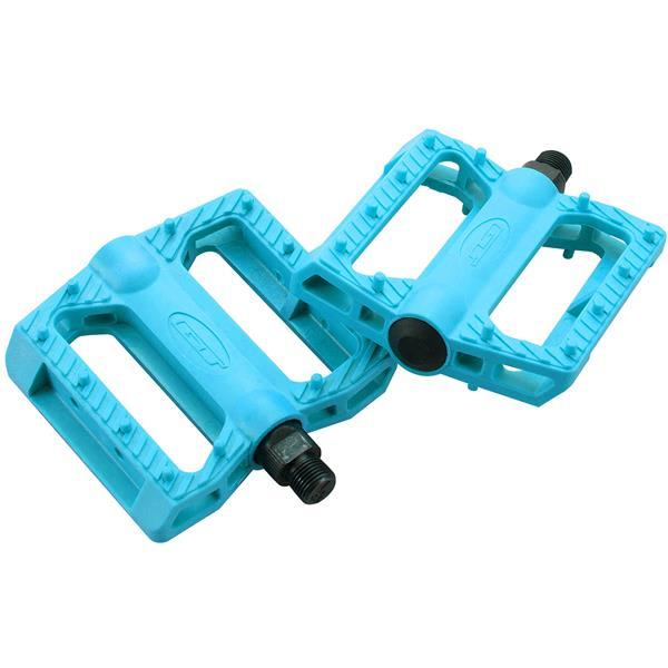 Gt Nylon Bmx Pedals Blue 9 / 16In U.S.A. & Canada