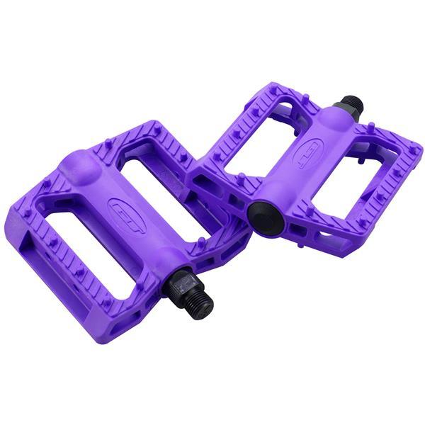 Gt Nylon Bmx Pedals Purple 9 / 16In U.S.A. & Canada