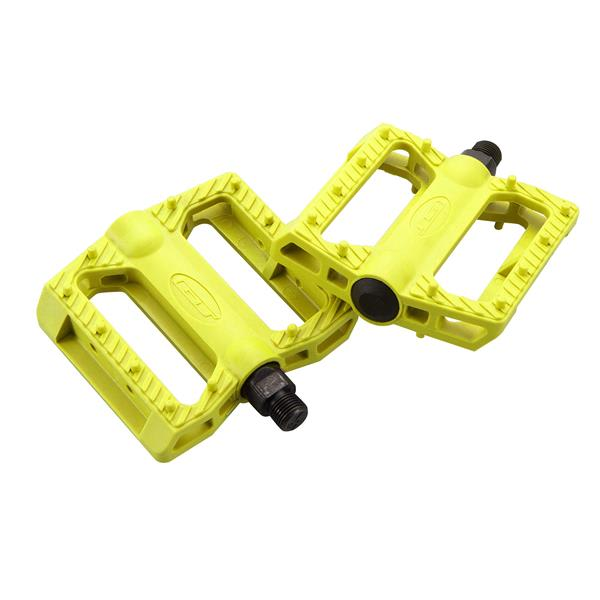 Gt Nylon Bmx Pedals Yellow 9 / 16In U.S.A. & Canada