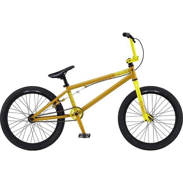 Gt Ricochet Bmx Bike Satin Mustard 20In U.S.A. & Canada