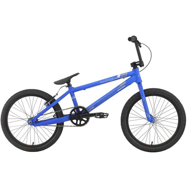Haro Pro Bmx Bike Matte Electric Blue 20In U.S.A. & Canada