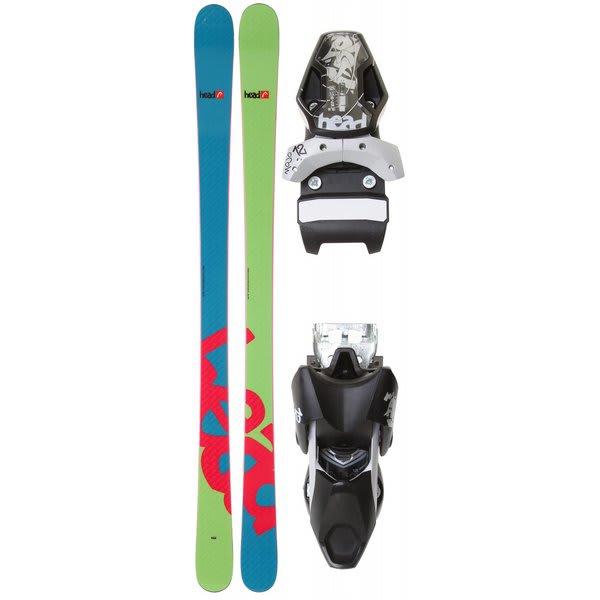 Head GP 84 Skis W/ Mojo 12 Wide Bindings