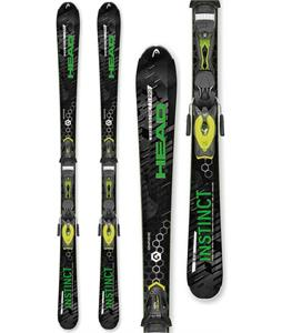 Head Raw Instinct Ti Pro Skis w/ PRX 12 Bindings