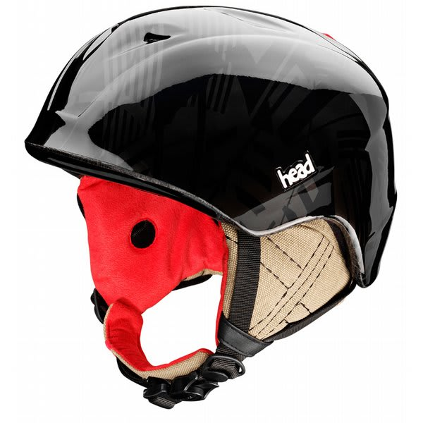 Head Rebel Snowboard Helmet Black U.S.A. & Canada