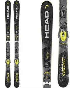 Head Strong Instinct Ti Skis w/ PR 11 MBS Bindings