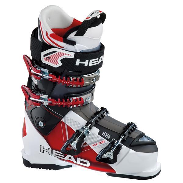 Head Vector 105 Ski Boots White / Transparent Red / Black U.S.A. & Canada
