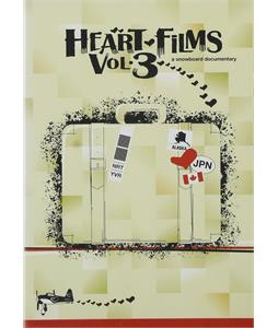 Heart Films Vol. 3 Snowboard DVD