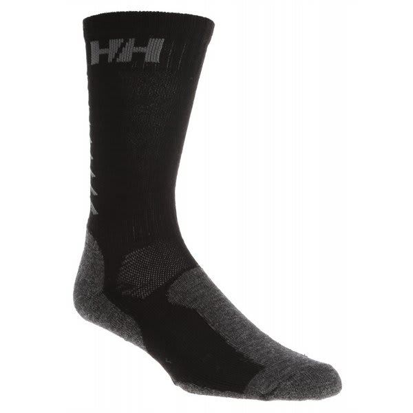 Helly Hansen Comfort Wool 2 Pack Socks Black U.S.A. & Canada