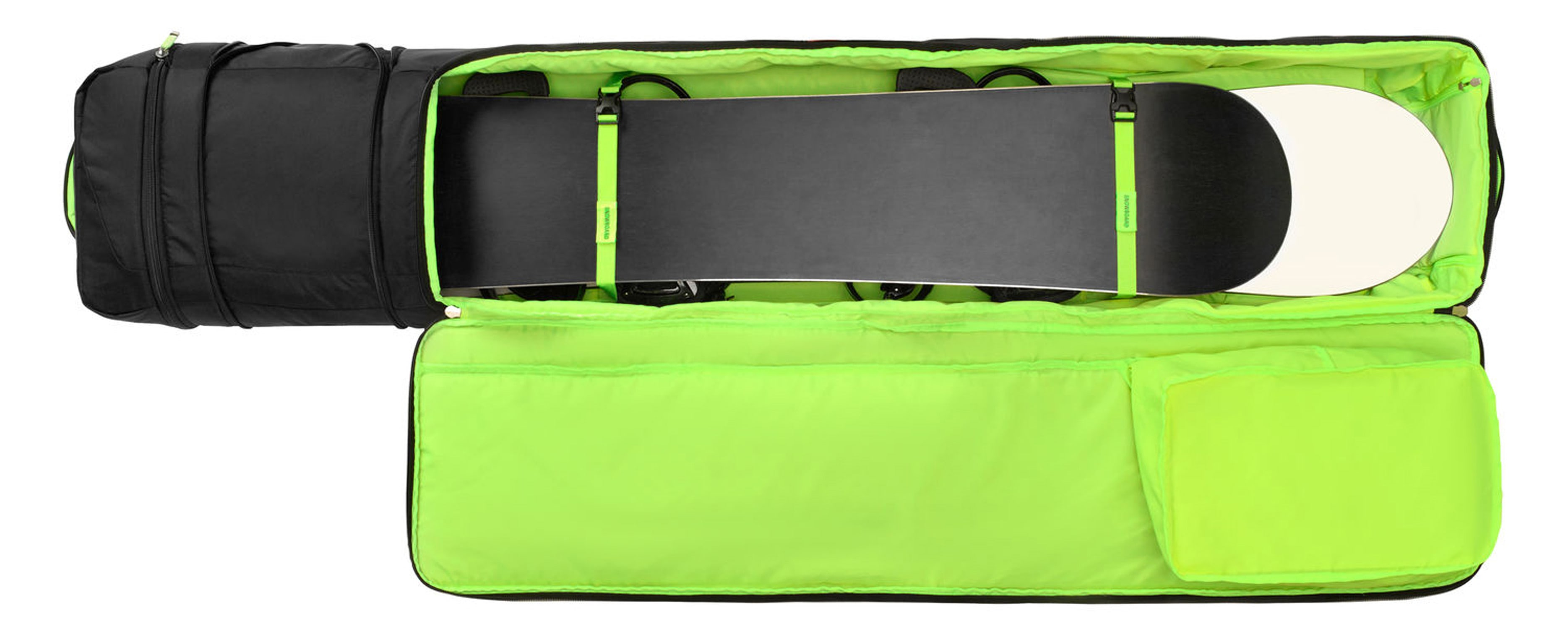 e9232616d26 High Sierra Pro Series 2 Double Adjustable Wheeled Ski Snowboard Bag -  thumbnail 2