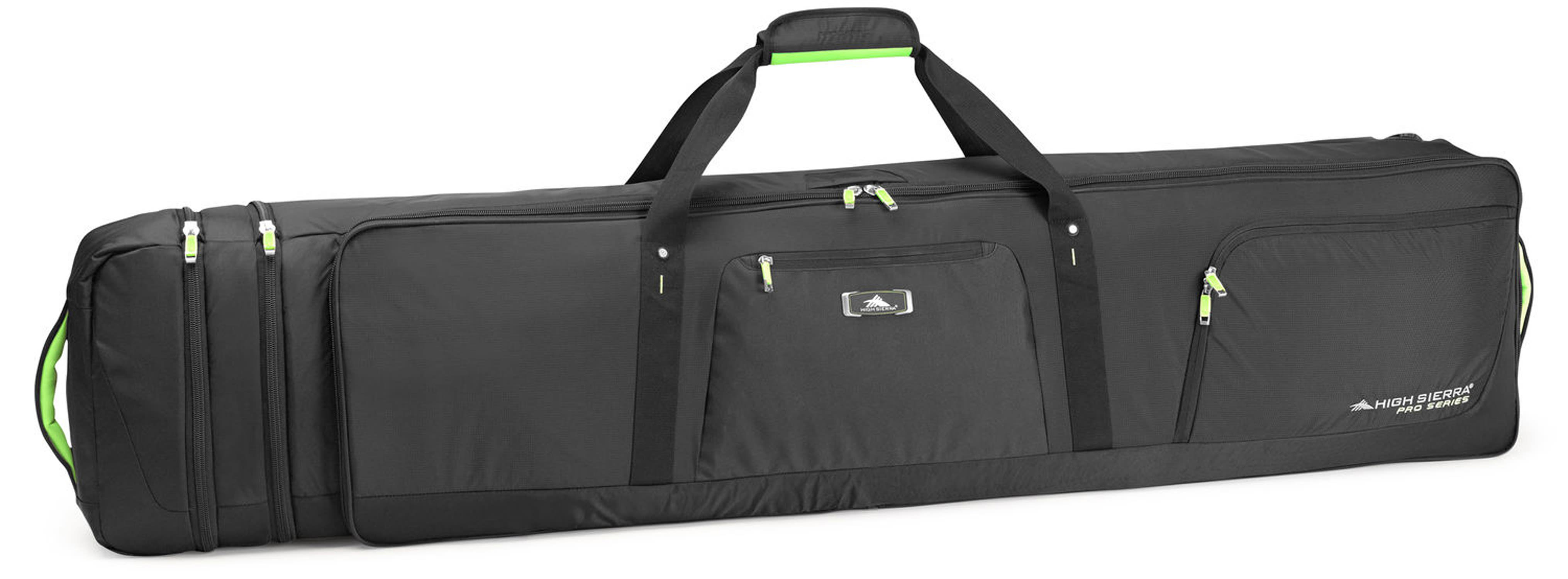 610bd8bb190 High Sierra Pro Series 2 Double Adjustable Wheeled Ski Snowboard Bag -  thumbnail 1