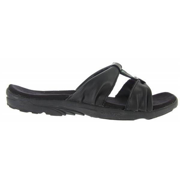 Hi Tec V Lite Minerva Slide Sandals Black / Topaz U.S.A. & Canada