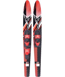 HO Blast Combo Skis w/ Adjustable Horseshoe Bindings