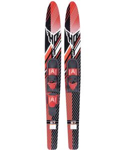 HO Blast Combo Skis w/ Adjustable Horseshoe/Trainer Bar Bindings