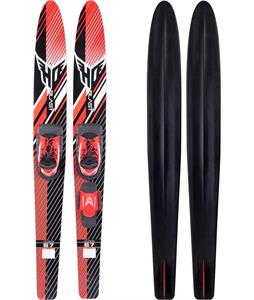 HO Blast Combo Skis w/ Small Blaze RTS/Trainer Bar Bindings
