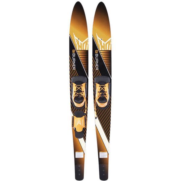 HO Burner Combo Skis W/ Trainer Bar Bindings