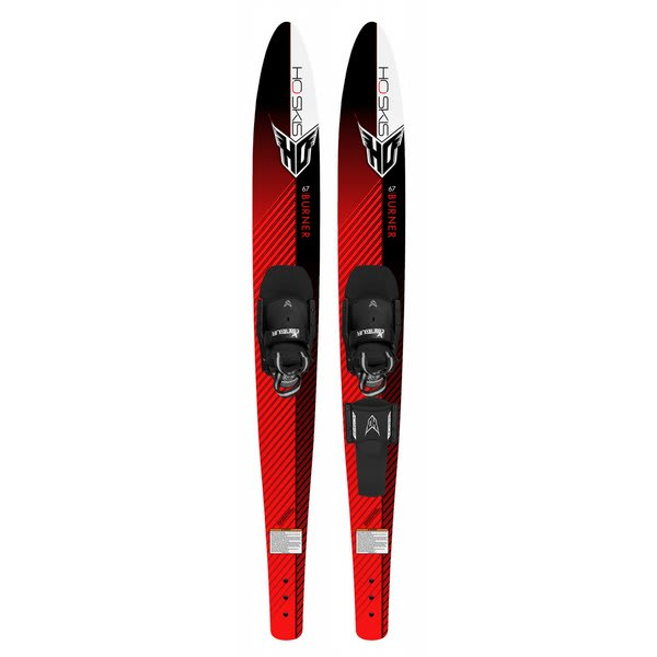 Ho Burner Combo Waterskis 67 W / Combo Contour & Rts Boots U.S.A. & Canada