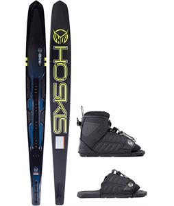 HO Carbon Omni Slalom Ski w/ FreeMax/ART Bindings