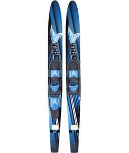 HO Excel Combo Skis w/ Adjustable Horseshoe/Trainer Bar Bindings