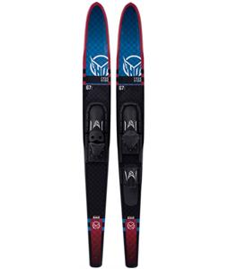 HO Freeride Combo Skis w/ Adjustable Horseshoe Bindings