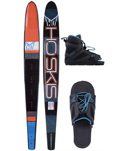 HO Freeride Slalom Ski w/ FreeMax/Adjustable Rear Toe Bindings
