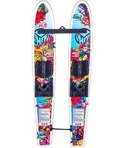 HO Hot Shot Trainer Skis w/ Adjustable Horseshoe Bindings & Trainer Bar/Rope