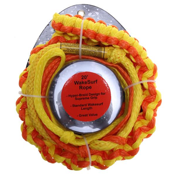 Ho notted Surf Rope 20Ft Assorted U.S.A. & Canada
