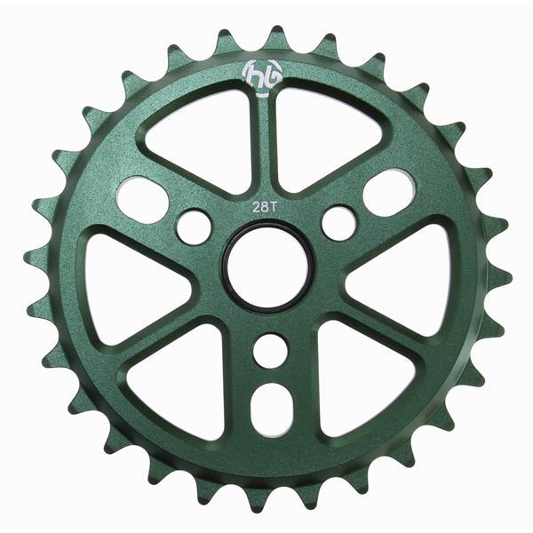 Hoffman Dinky 6061 Alloy Sprocket Green 28T U.S.A. & Canada