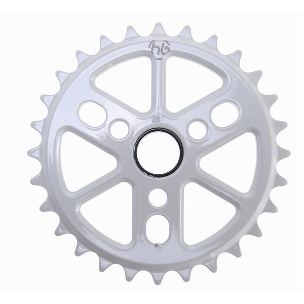 Hoffman Dinky 6061 Alloy Sprocket White 28T U.S.A. & Canada