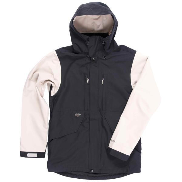 Snowboard jacket mens black